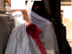 Suknia śłubna w stylu klasycznym