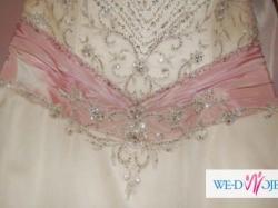 Suknia ślubna w większym rozmiarze - kolekcja Aspera Preludia 2011