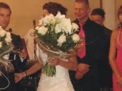 Suknia ślubna W1 White One 447 POLECAM!!!