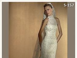 Suknia slubna W1 White One The bridal colletion, Bolerko La Sposa