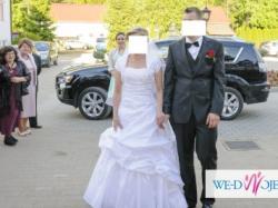 suknia ślubna +welon