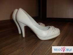 suknia ślubna, welon, buty, halka