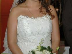 Suknia ślubna +welon gratis