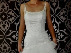 suknia ślubna wersja krótka i długa w jednym