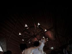 suknia ślubna WHIE ONE 424 koronkowa ecru rozmiar 36