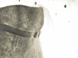 Suknia ślubna White One 175 koronkowa ecru rozmiar 38-40