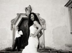 Suknia ślubna WHITE ONE 418 rozm. 36 ecru Hiszpanka