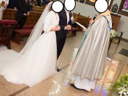 Suknia ślubna WHITE ONE biała rozmiar 34