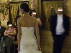 Suknia ślubna WHITE ONE model 424, rozm. 34/36
