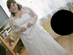Suknia ślubna - większy rozmiar