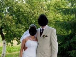 Suknia ślubna wyjątkowa bo szyta wdg. wlasnego uznania