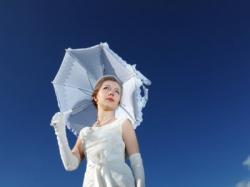 suknia ślubna wzorowana na Cymbeline Fatima