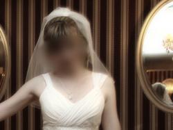 Suknia ślubna wzorowana na sukni z kolekcji Elizabeth Passion 2010 (mod. 2145).