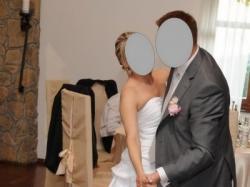suknia ślubna z 2009r., rozm. 36/38