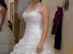 Suknia ślubna z 2010 roku:)