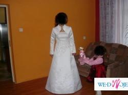 suknia slubna z bolerkiem