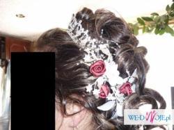 Suknia ślubna z bolerkiem roz.48