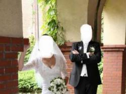 suknia ślubna z bolerkiem + welon