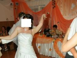 Suknia ślubna z bolerko