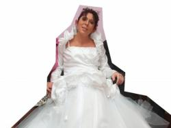 suknia ślubna z brzuszkiem