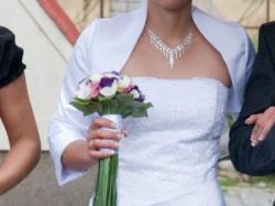 Suknia ślubna z dodatkami!!!