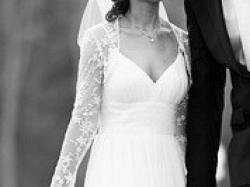 suknia ślubna z dodatkami