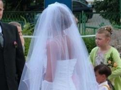 Suknia ślubna z dodatkami !!!