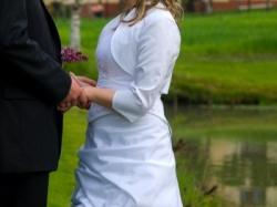 Suknia ślubna z dodatkami -  super cena!