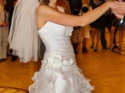 Suknia ślubna z dodatkami, w idealnym stanie