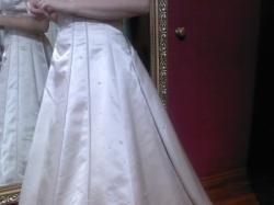 suknia ślubna z ekspozycji włoskiego salonu