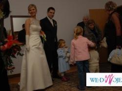 Suknia Ślubna z firmy Madonna LA Sposa GAleon, roz 36, kolor ecru