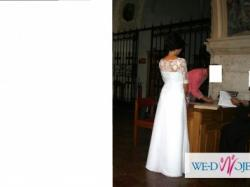 suknia ślubna z klasą:-)