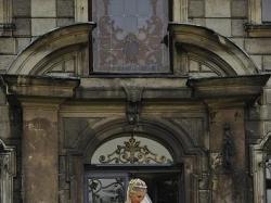 suknia slubna z kolekcji 2008 PRONOVIAS, model- Nalon+bolerko