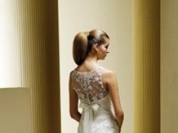 Suknia ślubna z kolekcji 2009, zakupiona w salonie MADONNA.