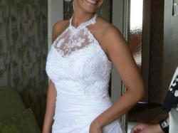 Suknia ślubna z kolekcji 2009 zakupiona w salonie sukien ślubnych ANNA Gliwice