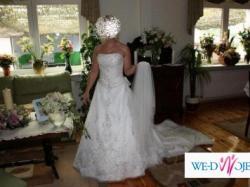 Suknia ślubna z kolekcji Aspera by Alicja Eklow 2008 r. GOLDINE 4290 - PRELUDIUM