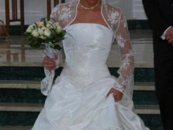 Suknia ślubna z kolekcji Gala.