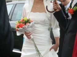 Suknia ślubna  z kolekcji La Sposa 2010'