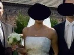 Suknia ślubna z kolekcji Mystic 2009, model Diamont.