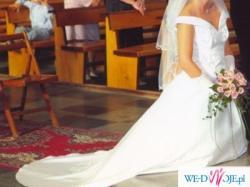 Suknia ślubna z kolekcji Papa Michel