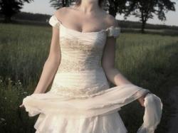 Suknia ślubna z kolekcji Papilio