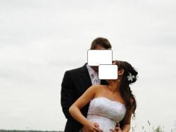 Suknia ślubna z kolekcjii Justin Alexander