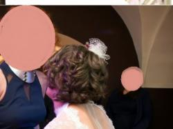 Suknia ślubna z koronki z odkrytymi plecami - z kolekcji Papilio! Rozmiar 38/ 40