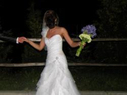 Suknia ślubna z kryształami Swarovskiego
