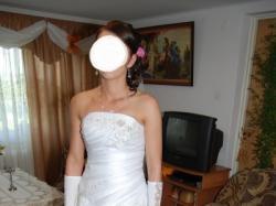 suknia slubna z krysztalkami