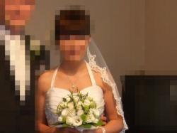 """Suknia ślubna z kryształkami Swarovskiego do obejrzenia w salonie """"CATHERINE""""!!!"""
