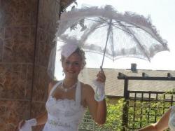 suknia ślubna z lat 40:)