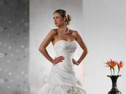 ***Suknia Ślubna z Madonny roz. 38/40*** kolekcja Tres Chic AQ009