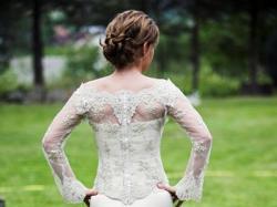 Suknia ślubna z najnowszej kolekcji Eva Sass 2008