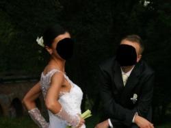 Suknia ślubna z prestiżowego salomu NABLA